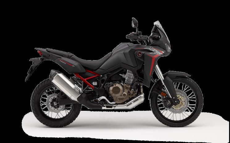 Honda AFRICA TWIN Noir mat métallisé ballistique 2020
