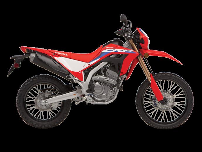 Honda CRF300L Rouge extrême 2021