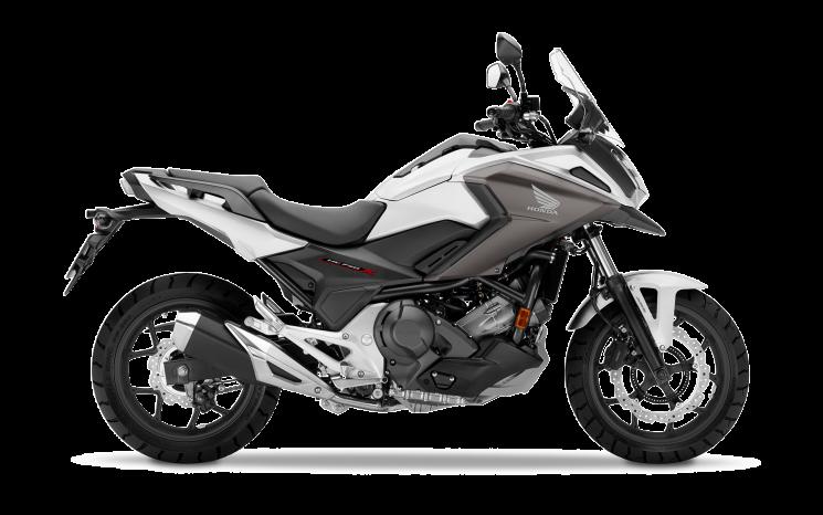 Honda NC750X Blanc éclatant nacré 2020