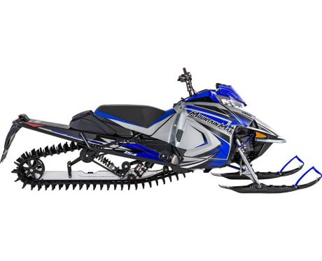 Yamaha MOUNTAIN MAX LE 154 ARGENT GIVRÉ/BLEU TEAM YAMAHA 2022